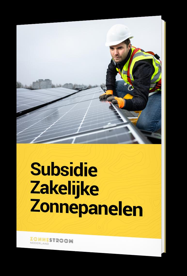 cover subsidie zakelijke zonnepanelen