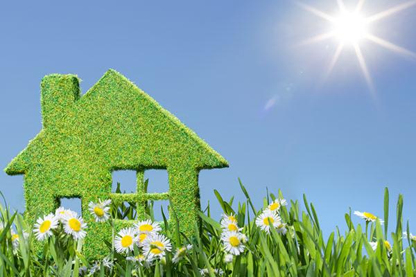Groen wonen huis energie neutraal milieu alg