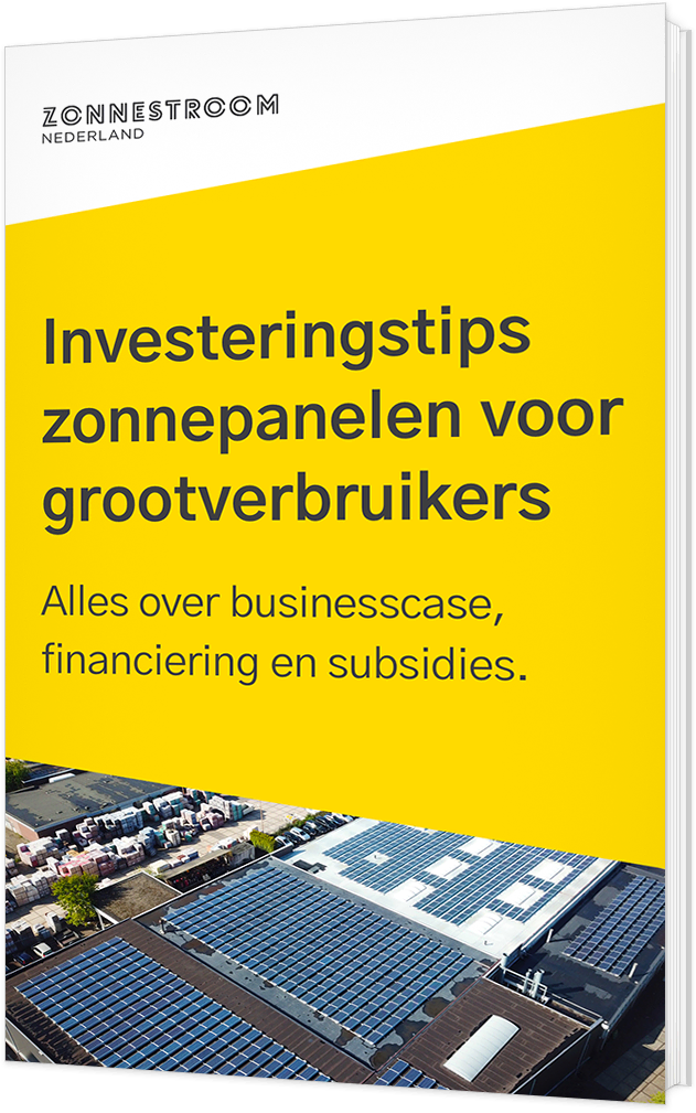 ebook investeringstips zonnepanelen grootverbruikers 2x
